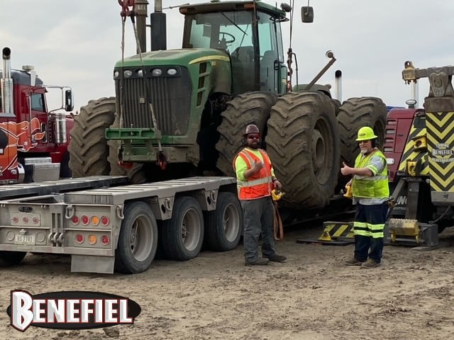 Construction Equipment Towing 3
